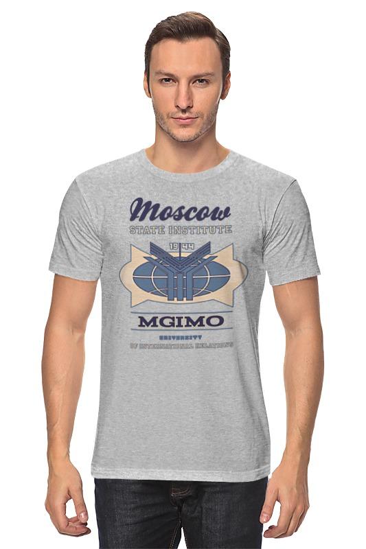 Футболка классическая Printio Мужская мгимо футболка мужская