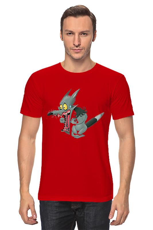 Футболка классическая Printio Wolf футболка print bar wolf motivation