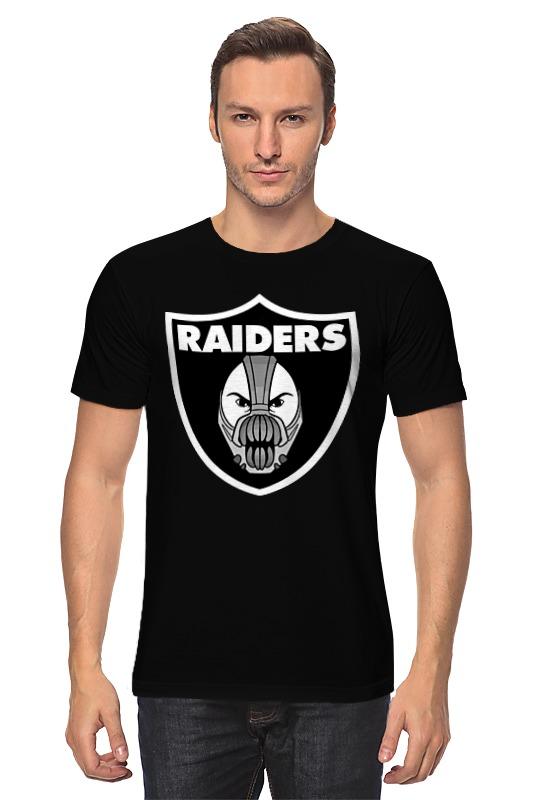Футболка классическая Printio Bane x raiders