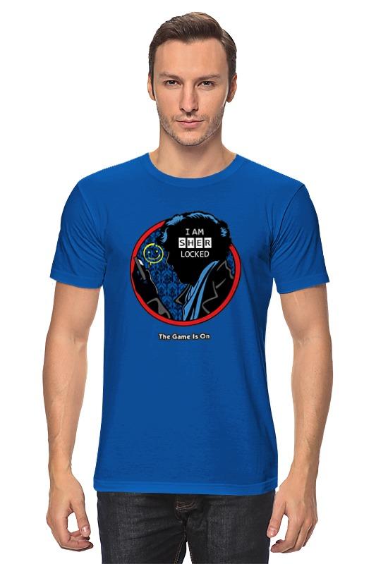 Футболка классическая Printio Шерлок холмс (sherlock holmes) ник картер американский шерлок холмс