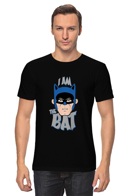 Printio I am the bat футболка print bar i am the dogtor