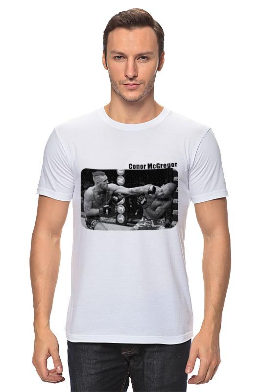 Футболка классическая Printio Conor mcgregor (конор) футболка юфс
