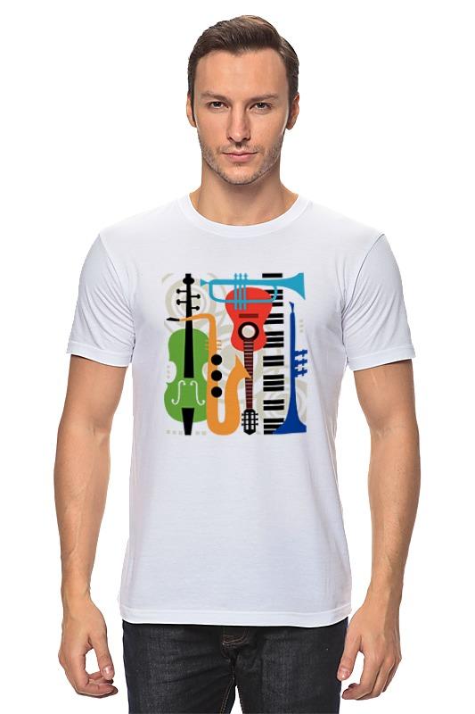 Футболка классическая Printio Музыкальные инструменты волшебный мир музыки музыкальные инструменты набор репродукций картин