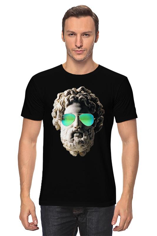 Футболка классическая Printio Греческий бог s reinach евлалия или греческий без слез