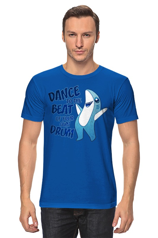 Футболка классическая Printio Танцующая акула вячеслав бакулин танцующая