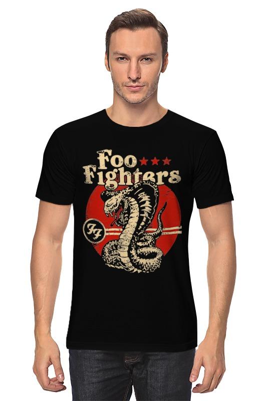 Футболка классическая Printio Foo fighters футболка с полной запечаткой мужская printio foo fighters