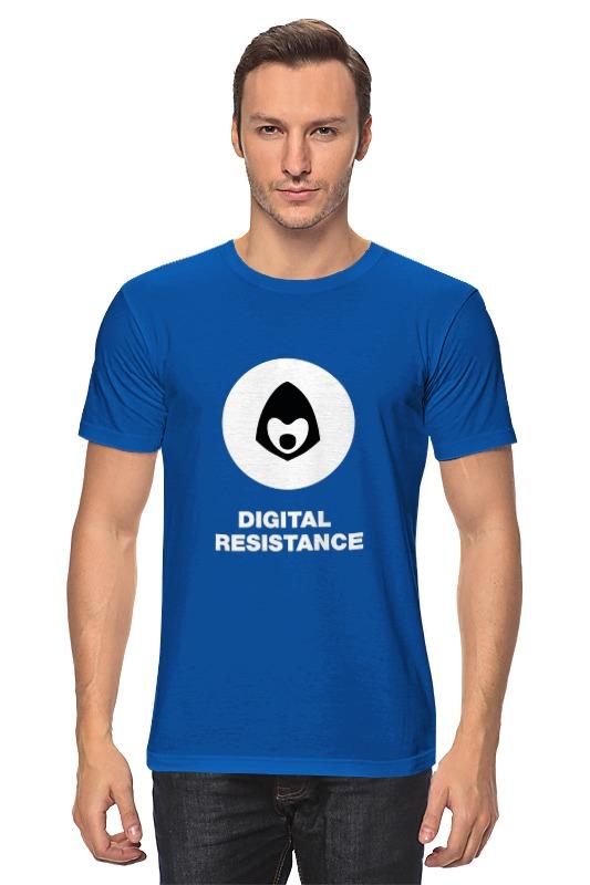 Футболка классическая Printio Digital resistance
