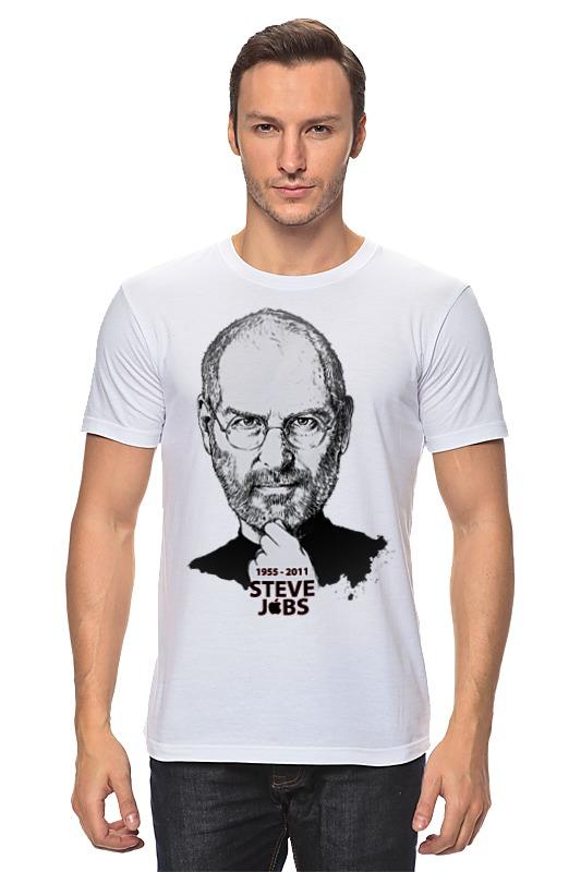 Футболка классическая Printio Steve jobs лонгслив printio steve jobs