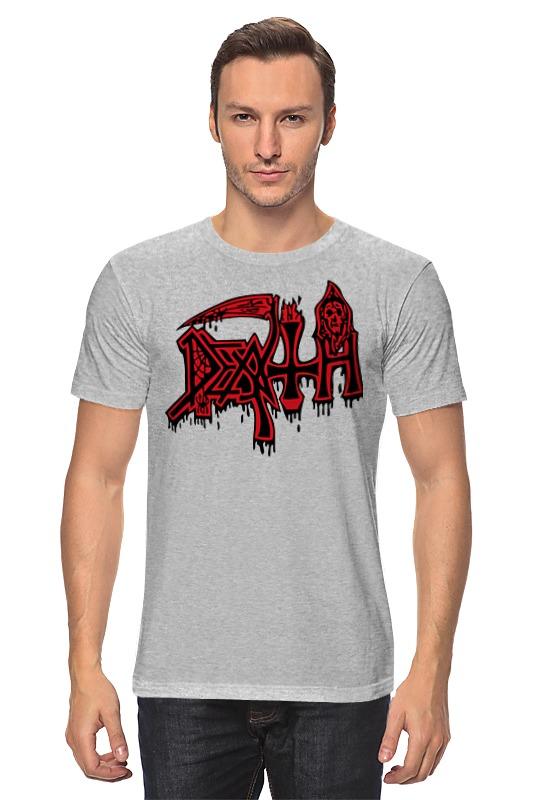купить Футболка классическая Printio Death band по цене 1341 рублей