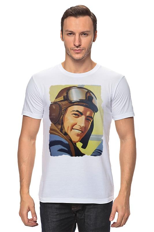 Футболка классическая Printio Летчик футболка рингер printio летчик