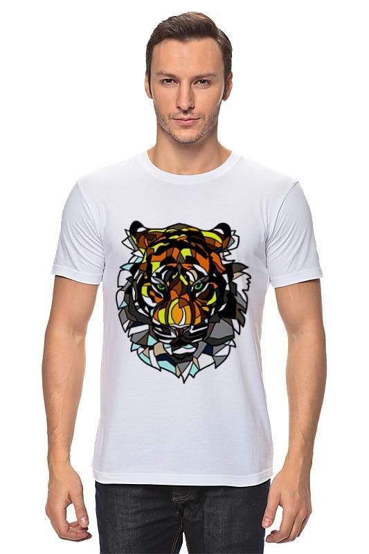 Футболка классическая Printio Морда тигра детская футболка классическая унисекс printio морда тигра