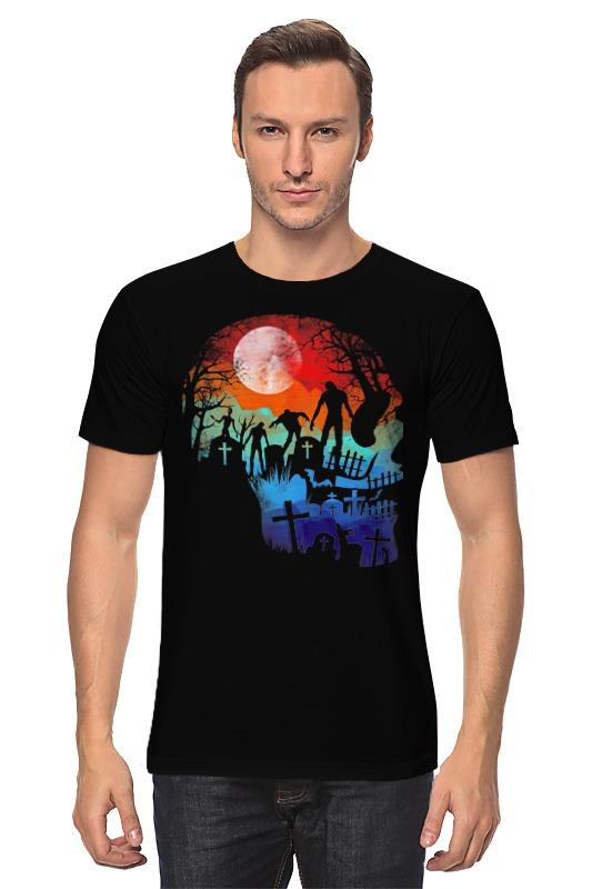 Футболка классическая Printio Ночь мертвецов футболка атака мертвецов
