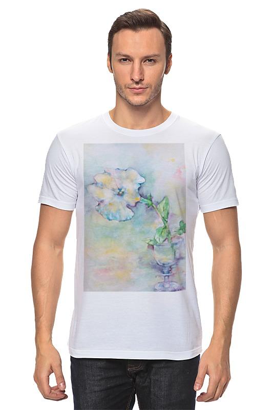 Футболка классическая Printio Белая мальва футболка классическая printio муравьед с цветами