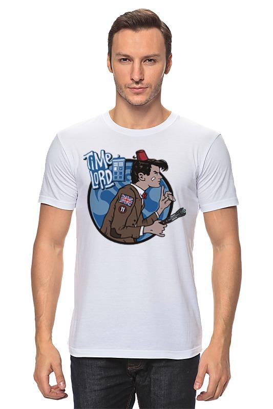 Футболка классическая Printio Доктор кто. time lord футболка для беременных printio time lord доктор кто