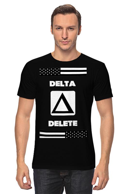Футболка классическая Printio Delta delete control alt delete