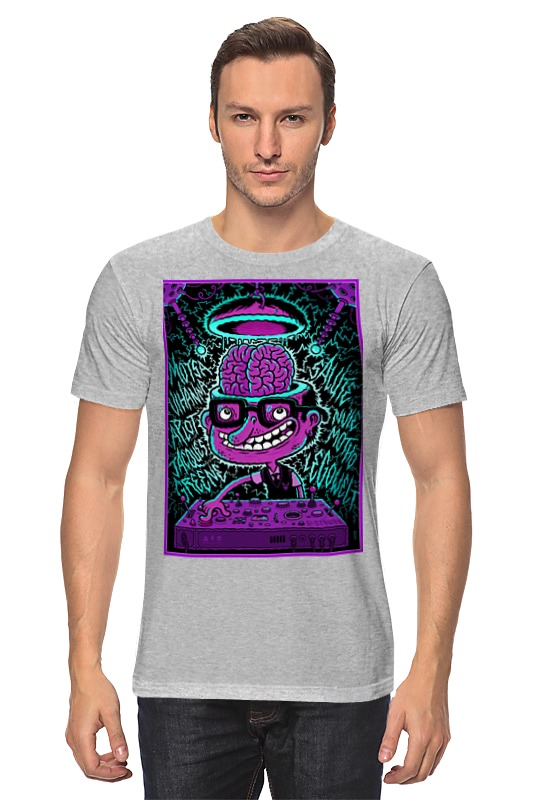 Футболка классическая Printio Crazy dj футболка классическая printio crazy artist