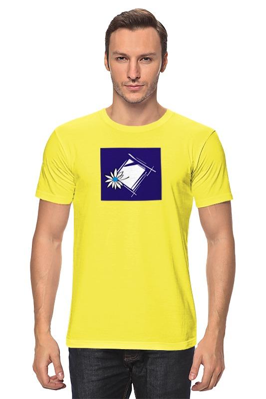 Футболка классическая Printio Ромашка в рам футболка wearcraft premium slim fit printio ромашка в рам