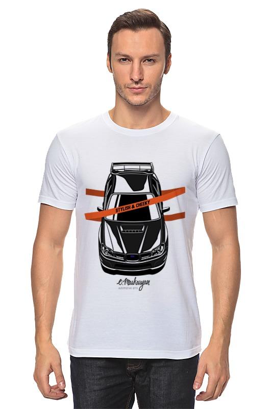 Футболка классическая Printio Impreza vertical футболка print bar impreza sti