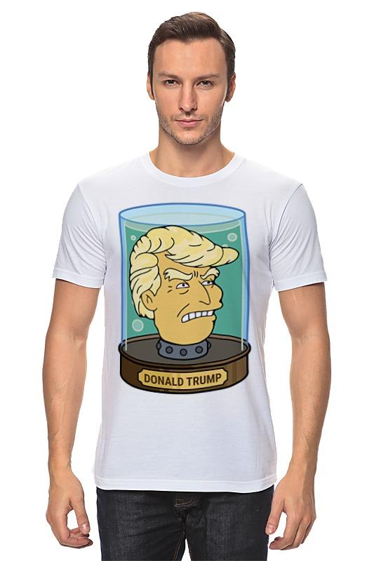 Футболка классическая Printio Дональд трамп