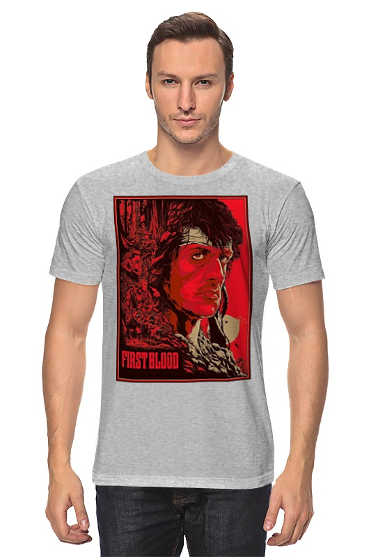 Printio Sylvester stallone / first blood цены онлайн