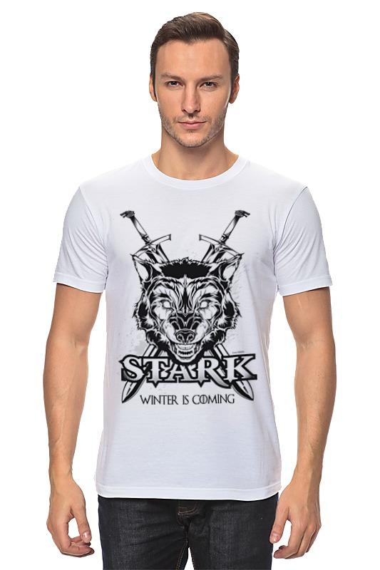 Футболка классическая Printio Волк старков (игра престолов) футболка wearcraft premium printio игра престолов