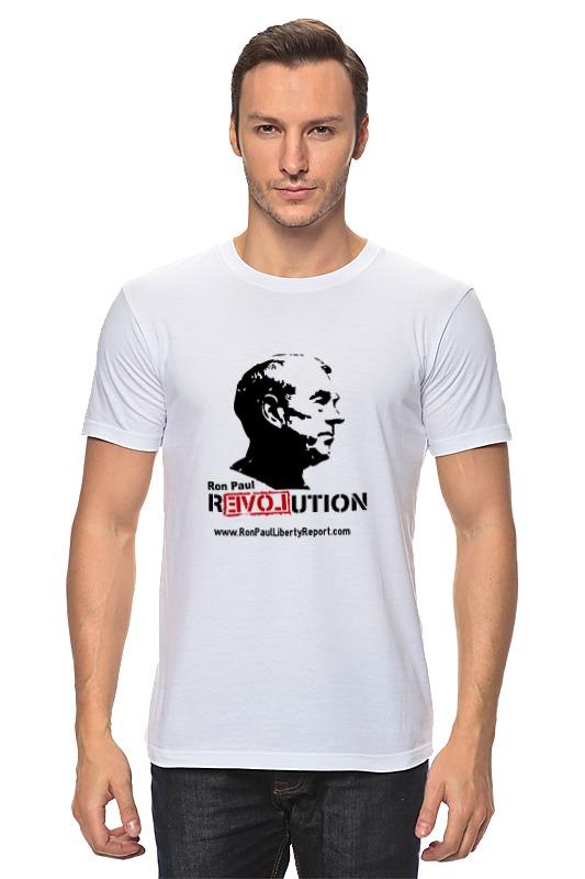Футболка классическая Printio Ron paul revolution цена