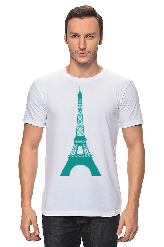 Футболка классическая Printio Эйфелевая башня башня сова