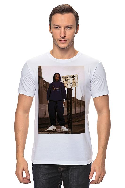 Футболка классическая Printio Tupac amaru shakur футболка с полной запечаткой женская printio тупак амару шакур tupac amaru shakur