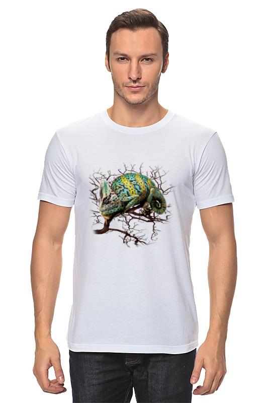 Футболка классическая Printio Хамелеон футболка хамелеон