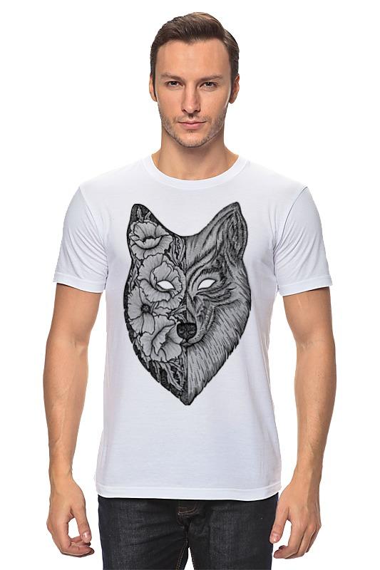 Футболка классическая Printio Волк (wolf) футболка классическая printio lone wolf