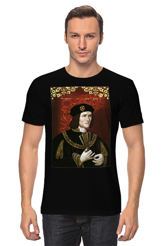Футболка классическая Printio King richard iii catherine spencer dante s twins