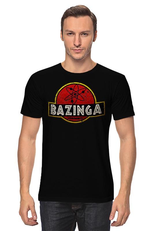 Футболка классическая Printio Bazinga!