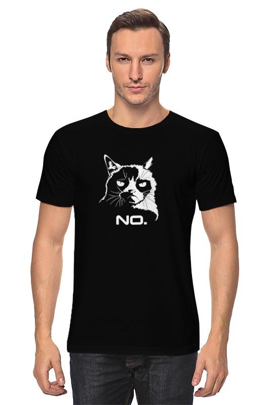 Футболка классическая Printio Сердитый котик / grumpy cat (no.)