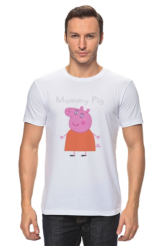 Футболка классическая Printio Mummy pig лонгслив printio mummy pig