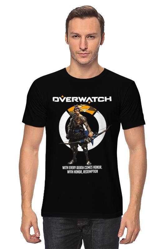 Футболка классическая Printio Overwatch. хандзо футболка классическая printio overwatch хандзо