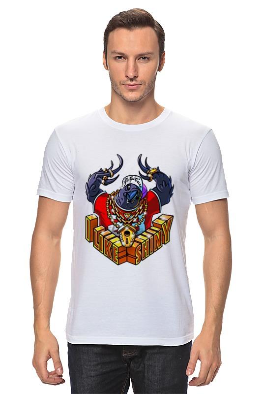 Футболка классическая Printio Gangsta crow футболка foundation f ink crow turquoise