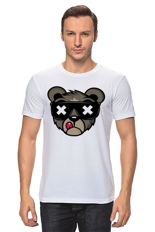 Футболка классическая Printio Crew five cali bear сумка printio crew five cali bear