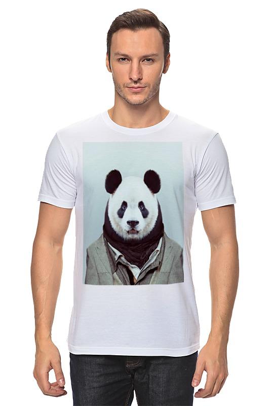 Футболка классическая Printio Деловая панда