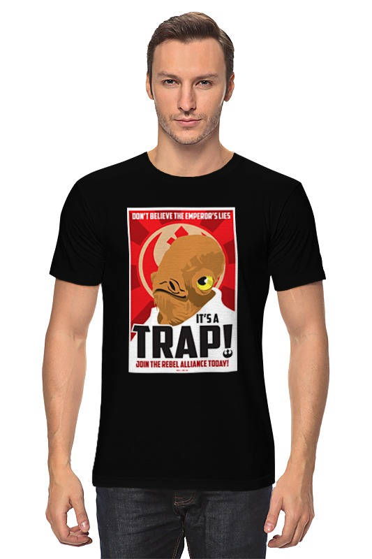 Футболка классическая Printio It's a trap! [sa]mersen smartspot fuse amp trap fuses ajt4 4a 600v 27 51mm
