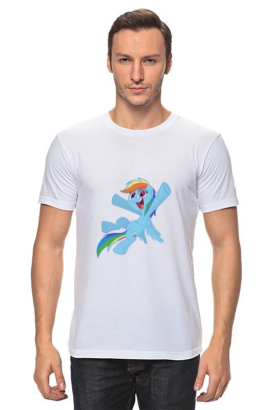 Футболка классическая Printio My little pony- rainbow dash фигурка funko pop vinyl my little ponny rainbow dash sea pony