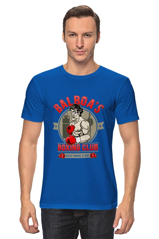 Футболка классическая Printio Balboa's boxing club ароматизатор auto standart boxing club экзотика