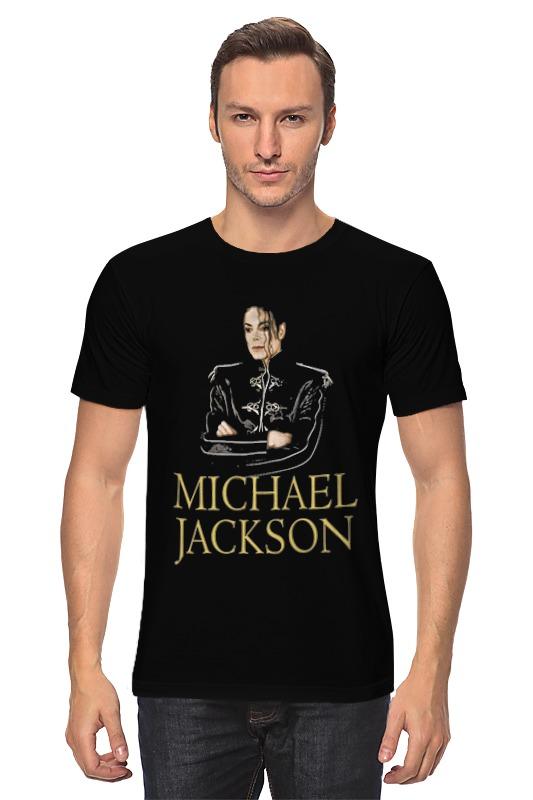 Футболка классическая Printio Michael jackson футболка стрэйч printio michael jackson