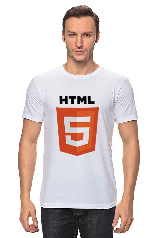 Футболка классическая Printio Html 5 sitemap 74 html