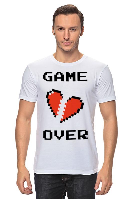 Футболка классическая Printio Game over (игра окончена) цена и фото