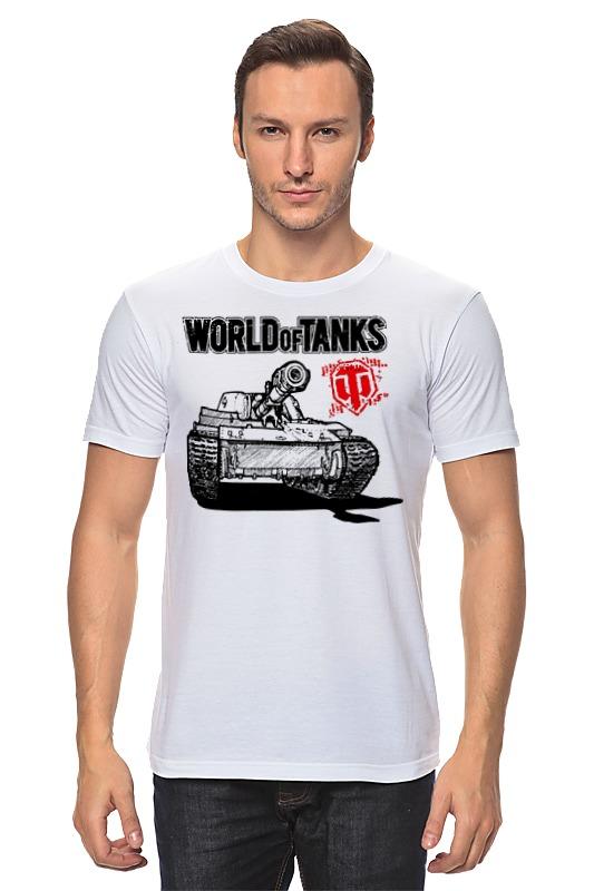 Футболка классическая Printio World of tanks футболка стрэйч printio world of tanks