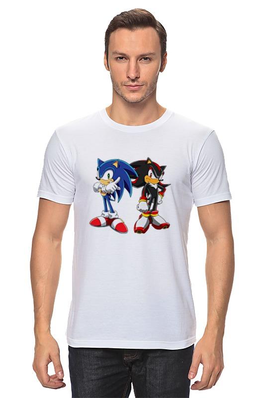 Футболка классическая Printio Sonic shadow футболка классическая printio sonic dance