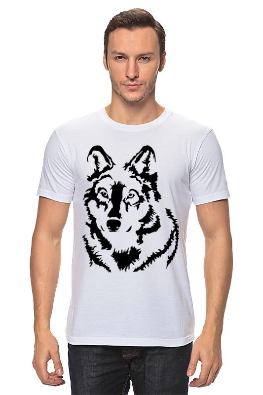 Футболка классическая Printio Тату волк слюнявчик printio тату волк
