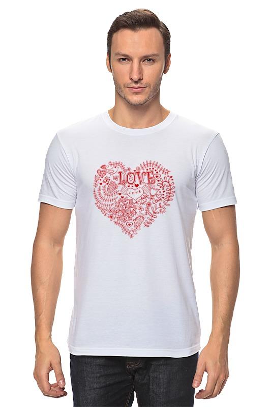 Футболка классическая Printio Love - 2 футболка классическая printio 62 2% в саратове