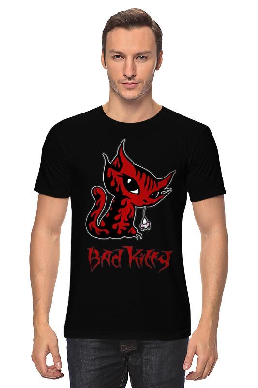 Футболка классическая Printio Bad kitty свитшот print bar bad kitty