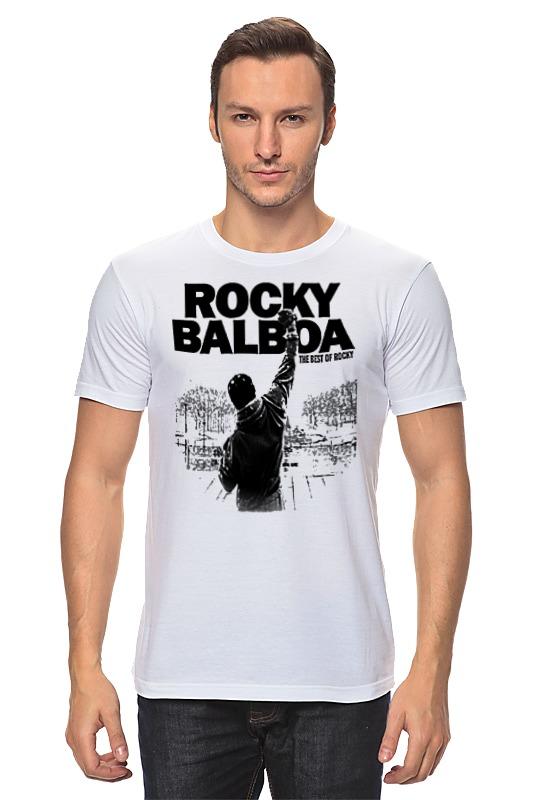 Футболка классическая Printio Рокки бальбоа